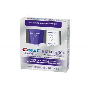 3D WHITE BRILLIANCE 2 STEP TOOTHPASTE