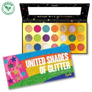 United Shades of Glitter - 21 Pressed Glitter Palette