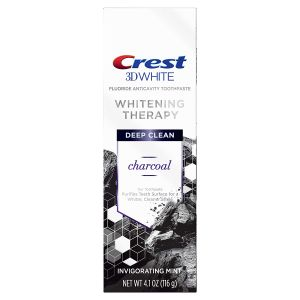 3d White Whitening Therapy Charcoal Deep Clean Toothpaste Invigorating Mint