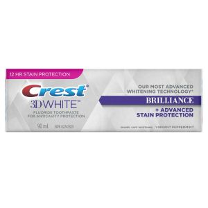 3D White Brilliance Vibrant Peppermint Whitening Toothpaste