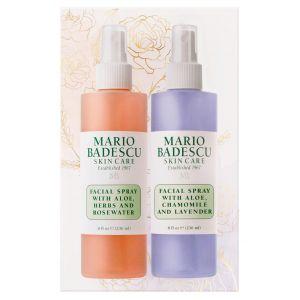 Facial Spray with Rosewater & Facial Spray with Green Tea Duo