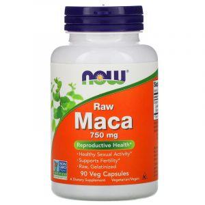 Maca, Raw, 750 mg, 90 Veg Capsules