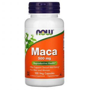 Maca, 500 mg, 100 capsules végétariennes