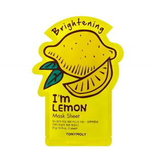 I'm Real LEMON Sheet Mask Brightening Mask Sheet - TonyMoly
