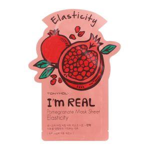 I'm Real POMEGRANATE Mask Sheet Elasticity -TonyMoly