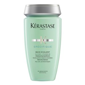 Specifique Bain Divalent Shampoing Rééquilibrant Cheveux À Tendance Grasse | KÉRASTASE