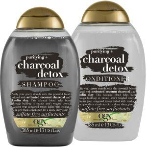 Purifying + Charcoal Detox Shampoo & Conditioner - OGX