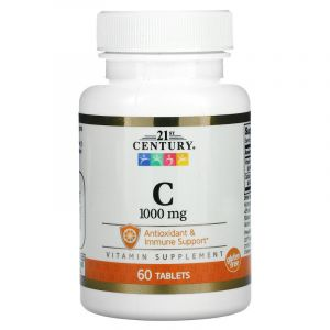 Vitmain C 1000 mg Tablets 60 Count | 21st Century HealthCare